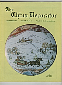 The China Decorator -  December 1983 (Image1)