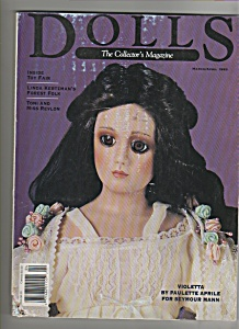 Dolls Magazine  -=  March/April 1993 (Image1)