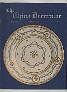The China Decorator -march 1985