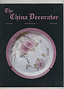 The China Decorator - July 1985