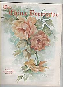 The China Decorator -  August 1985 (Image1)