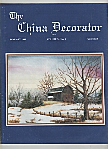 The China Decorator - January 1989