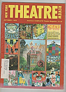 New York Theatre magazine  - October 1978 (Image1)