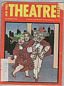 New York Theatre magazine - December 1978 (Image1)