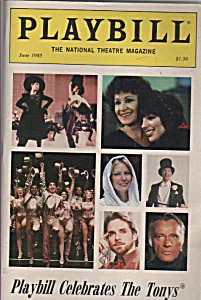 Playbill magazine -  June 1985 (Image1)