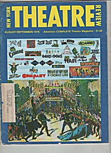 New York Theatre Review - August/september 1978