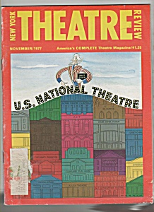 New York Theatre review - November 1977 (Image1)