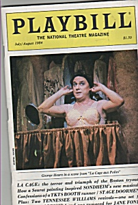 Playbill - GEORGE HEARN  - July/August 1984 (Image1)