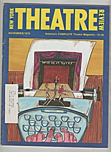 New York Theatre review  - November 1978 (Image1)
