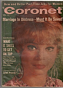 Coronet - April 1967  JULIET PROWSE (Image1)