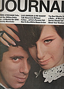 Ladies Home Journal August 1966 BARBRA STREISAND (Image1)