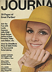 Ladies Home Journel - October 1967 Twiggy