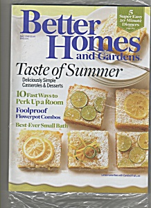 Better Homes & Gardens May 2008
