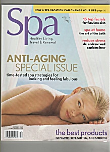 Spa Magazine Ad October 2007