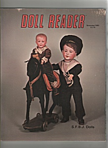 Doll Reader magazine-  November 1983 (Image1)