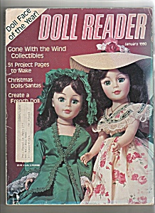 Doll Reader Magazine- January J1990
