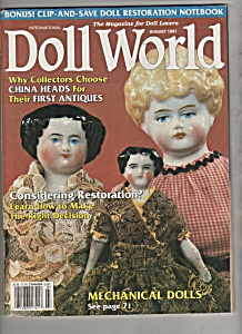 Doll World - August 1991 (Image1)