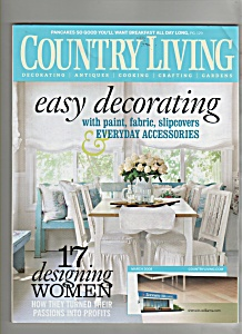 Country Living - March 2008