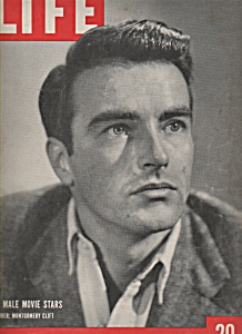 Life Magazine - Dec. 6, 1948 - MONTGOMERY CLIFT (Image1)