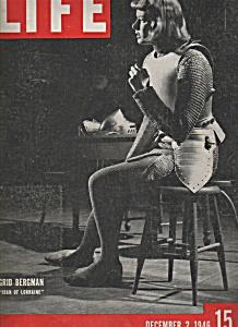 Life Magazine - Dec.2, 1946 - INGRID BERGMAN (Image1)
