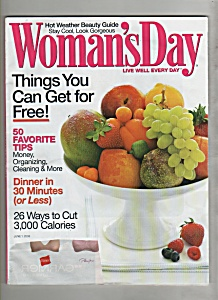 Woman's Day June 1, 2008