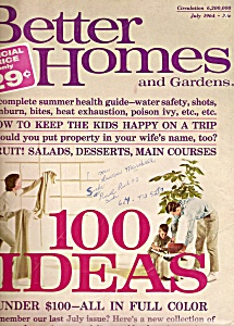 Better Homes and Gardens magazine - July 1964 (Image1)