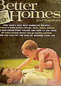Better Homes and Gardens  Magazine- June 1964 (Image1)