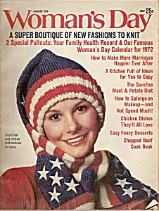 Woman's Day January 1972 (Image1)