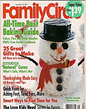 Family Circle -  November 18, 1997 (Image1)