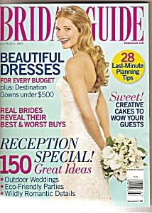 Bridal Guide Magazine- July/august 2007
