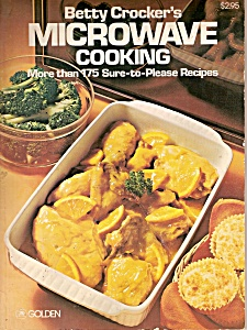 Betty Crocker's microwave cooking book & cards -1977 (Image1)