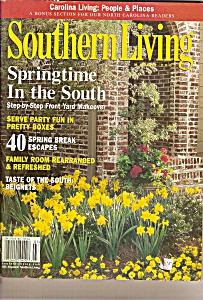 Southern Living Magazine - March 2001