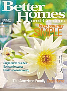 Better Homes And Gardens Maqazine - June 2002