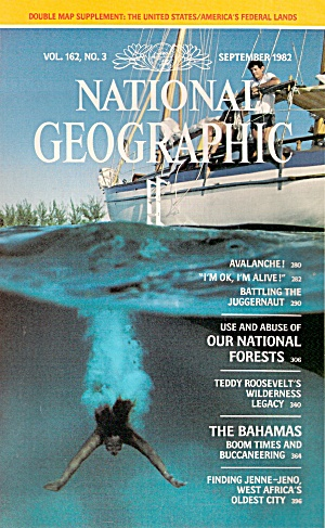 National Geographic  - September 1982 (Image1)