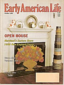 Early American life magazine -- October 1989 (Image1)