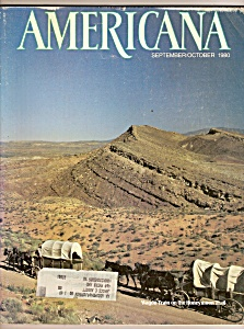 Americana magazine -  Sept./,.October 1980 (Image1)