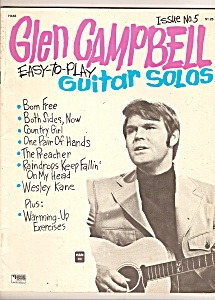 Glen Campbell Guitar Solos Magazine - Issue No. 5