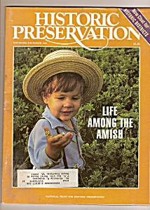 Historic Preservation magazine -  Nov. -= Dec. 1988 (Image1)