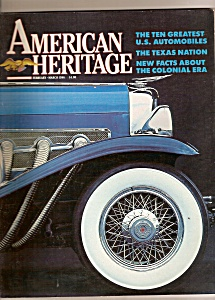 American Heritage Magazine - Feb-march 1986