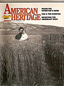 Ameri Can Heritage Magazine - Oct., Nov. 1985