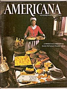 Americana  magazine -  November/December 1979 (Image1)
