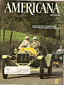 Americana magazine -  May/June 1981 (Image1)