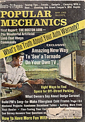 Popular Mechanics - Mar. 1969 (Image1)
