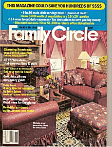 Family Circle March 16, 1982