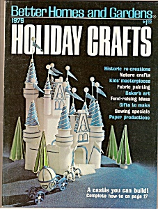 Better Homes & Gardens Holioday Crafts - 1975