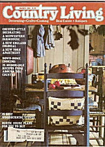 Country Living Magazine - March 1981