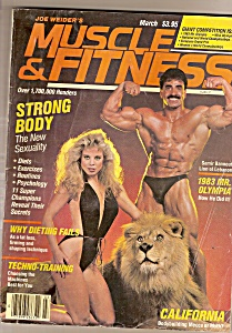 Muscle & Fitness Magazine - Maqrch 1984