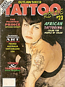 OUTLAW BIKER TATTOO Revue # 23 - December 1992 (Image1)
