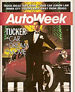 Auto Week magazine - July 4, 1988 (Image1)