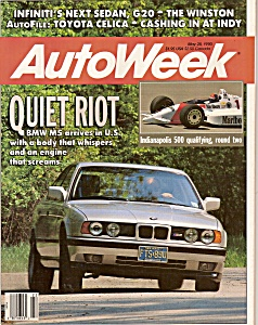 Auto week magazine -  May 28, 1990 (Image1)